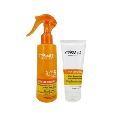 Cosmed Cosmed Sun Essential SPF30 Spray Lotion 200ml Set Renksiz